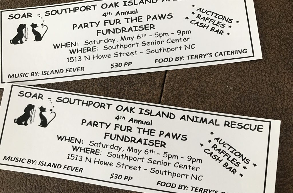 """""""PARTY FOR THE PAWS"""" 2017"""